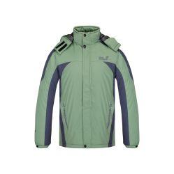 偶然の方法はフード付きのジャケット人のための細い適合のスポーツジャケットのウインドブレイカーの屋外にファスナーを締める