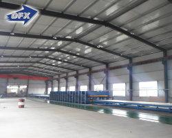 Los costos de construcción prefabricados de acero estructural diseño de almacenes el marco de metal