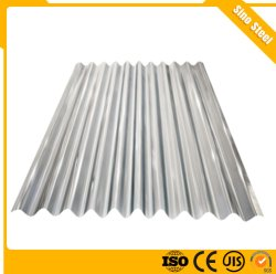 Impermeabilización de cubiertas de acero galvanizado corrugado Gi Hoja de hierro el material de construcción