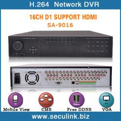 16ch Full D1 Realtime DVR(SA-9016HD)