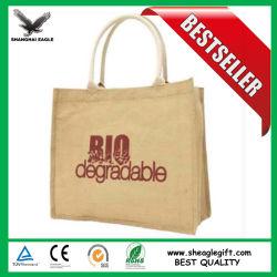 ハンドルが付いているカスタム昇進の環境保護のEcoのジュート袋