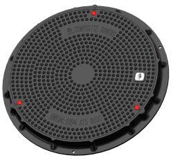 고품질 FRP 맨홀 커버 및 프레임 방수 SMC 방수 맨홀 커버 복합 맨홀 커버 투명 오픈 직경 600mm A15 A50 B125 C250 D400
