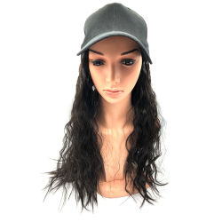 Cabelos encaracolados Hat Peruca Peruca Cabelo Sintético Tamanho Longo Produtos de cabelo