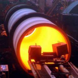 Equipamento de tubo de ferro dúctil, Fábrica de tubos de ferro dúctil