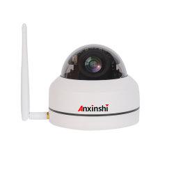 Videocamera di sicurezza del CCTV della cupola di formato PTZ del IP WiFi dell'alloggiamento del metallo di IR dello zoom di Anxinshi Poe P2p 3.0MP 5X mini