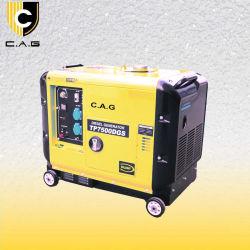 Diesel van de ultra-Stilte van de Reeks van Tpc 5kw 6kw 7kw de Kleine ElektroGenerators van de Motor