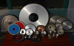 切削工具のためのダイヤモンドの粉砕車輪、ガラス化されたCBNの車輪