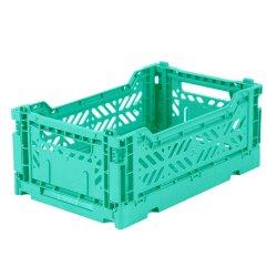 OEM de Plastic Opvouwbare Bakken van de Opslag van de Doos Vouwbare Plastic voor Stapelbare Dozen en Plastic Pallet