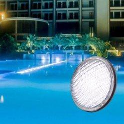 مصباح حوض السباحة تحت الماء LED استبدال الزجاج الخفيف بجهد 12 فولت وبقوة 10 واط PAR56 235LEs أبيض <Sb8002-235>