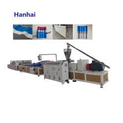 عزل أحادي الطبقة للحرارة من نوع PVC مزدوج مسماري مخروطي الشكل من المصنع لوح متموجة وخط بروز مسقوف بالسلالم