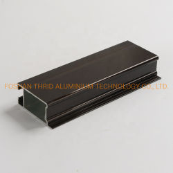 Alluminio perforato di profilo della fabbrica per l'espulsione dell'alluminio del portello del garage di CNC