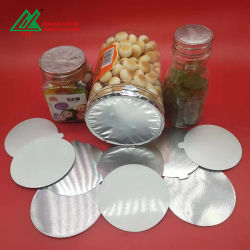 Induction Aluminium Pet foil Seals voor Aluminium foil Custom-fles Afdichting van de dop