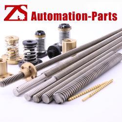 Zsの工場価格の高精度のオートメーションのためのスムーズな鉛ねじ