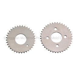 Componentes de metal sinterizado de polvo de Pm Producto de acero inoxidable engranaje cilíndrico metal en polvo el poder de piezas metalúrgicas