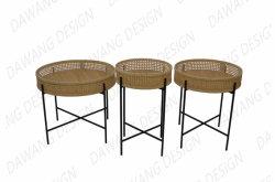 옆 테이블 등나무 커피용 탁자 새로운 디자인
