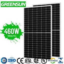 precio de fábrica de 440W 450W 460W los módulos mono Panel Solar monocristalino