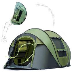 4 Pessoa Alta Qualidade Pop Automático de Piscina Camping Tenda Automática, Piscina Pop-up tenda para Camping tenda impermeável