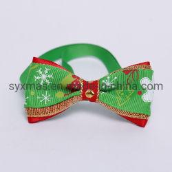 Weihnachtsfeiertags-Haustier-Katze-Hundehalsring-Querbinder-justierbares Stutzen-Brücke-Katze-Hundepflegenzubehör-Haustier-Produkt