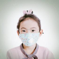 Telas de algodón puro 3~5 Ear-Loop reutilizables y Máscara de protección transpirable para niños