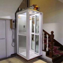 Qiyun 3m 4m 5m 6m 7m 10m 12m vertical eléctrico Deshabilitar la Casa de Ancianos de la plataforma del elevador de silla de ruedas Home villa residencial de la Grúa de elevación del pasajero