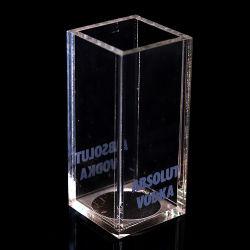 Brosse en acrylique de haute qualité pot Vase en acrylique