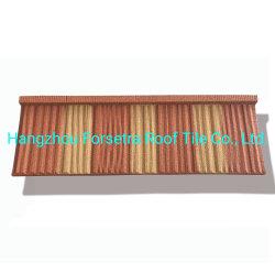 سعر جيد خشب شوك مواد بناء سقف طبيعية ملونة الحجر السقف المعدني المطلي