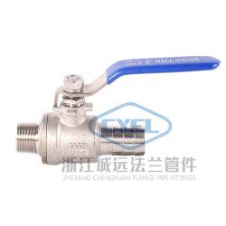 CF8m 2PC 1000wog هيدروليكي من الفئة SS سعر مروع 1/2 بوصة SS 304 316L 2 pcs من الفولاذ المقاوم للصدأ الكرة صمام