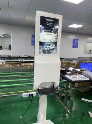 자동적인 손 소독제 분배기를 가진 LCD 디스플레이 광고 21.5 인치 위원회