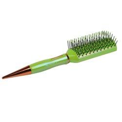 فرشاة الشعر البلاستيكية مع طلاء UV