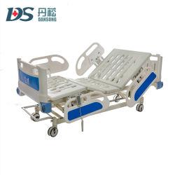 Habitación de la ICU Ward 3 Control remoto de la función del paciente del Hospital cama eléctrica médicos electrónicos
