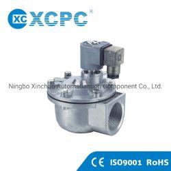 China-Lieferant Xcpc pneumatische Fabrik-Hersteller Xmfz Serien-rechtwinkliges Magnetspule-Steuerimpuls-Ventil