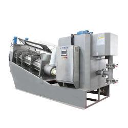 수생 식물을%s 물 처리 장비 나사 압박 진창 탈수 기계