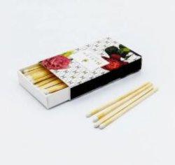 Venta al por mayor de velas personalizadas coincide con Madera largos partidos para velas perfumadas