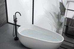 O Chrome Autoportante Banheira batedeira, autoportante torneira, banheira independente para a torneira de Latão