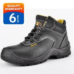 Schoenen van de Laarzen van de Veiligheid van het Leer van de Sporten van de Vrouwen van de Mannen van de Manier van de Dichtheid van Pu de Dubbele Duurzame Militaire