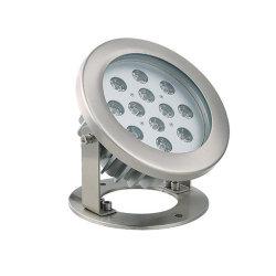 Lino LED Fuente de metal con luz subacuática