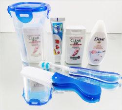 Отель ванной поставок портативных поездки пробы шампунь для ухода за волосами волосы ванной зубную щетку зубной пасты,