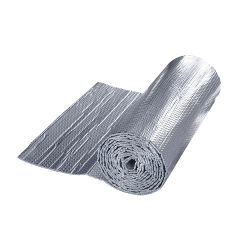 Goedkope warmtewerende Radiant Barrier Double Layers Aluminium foil Single Air PE Bubbble Roof isolatiemateriaal