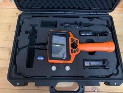 Video endoscopio flexible de Joystick para la reparación del motor, la inspección de soldadura