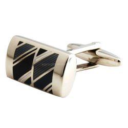Perla VAGULA Gemelos de Clip Cuff Links Retangle Gemelos de forma rápida entrega de regalos (12).