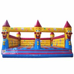 Inflatable Bouncer anniversaire Clowns Bouncy Jumping bouncer