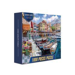 Jigsaw Puzzle 1000 piezas de Coches Mapa de cartón personalizadas rompecabezas juego de puzzle