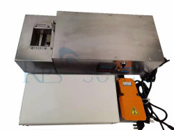 20kHz 초음파 납땜(Ultrasonic Soldering)을 통한 온도 제어 시스템의 투과 납땜 와이어 테이닝 시스템을 위한 포트