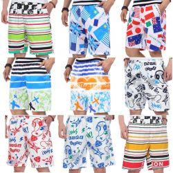 Misture os Homens de Cor Stock Beach Pants (H19-23)