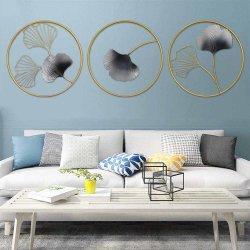 Arredamento Casa Ginkgo foglia metallo Art Design parete