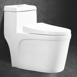 Het Amerikaanse Moderne Dubbele Gelijke Ceramische Toilet plaatst Badkamers