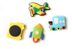 Estilo europeo de educación temprana de niños, el transporte frigorífico adhesivo suave adhesivo