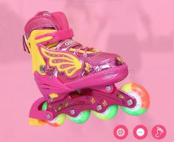 Оптовая торговля Dlpo красочных роликов для взрослых скейт с 4 PU колеса