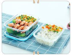 Recipiente para armazenamento de alimentos de vidro à prova de fugas Lancheira com saco térmico