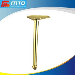 320mm Goldkegel-Gefäß-Dekoration-Sofa-Bein-Eisen-Metallstützbefestigungsteil-Tisch-Möbel-Beine
